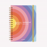 Planner 2021 A5 Vuelta al Sol  -2 days per pages.