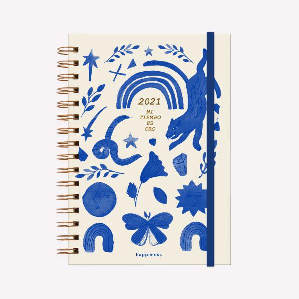 Planner 2021 A5 Happimess Mi tiempo es Oro Daily