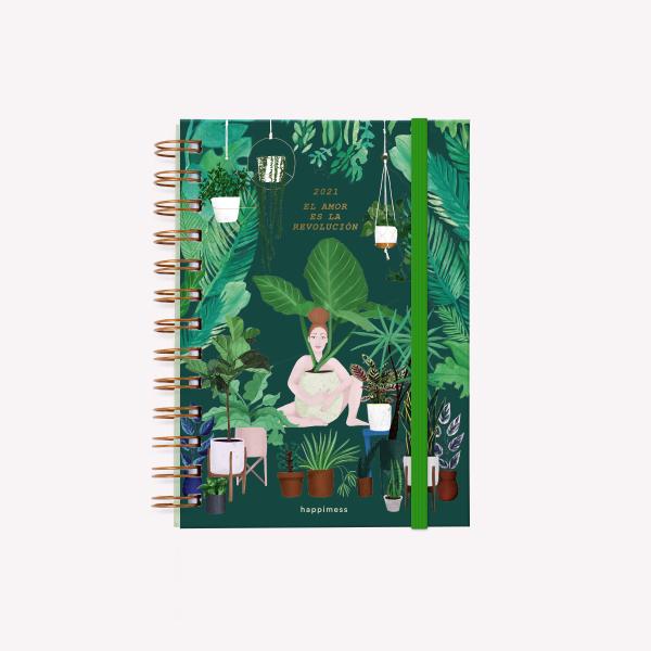 Planner 2021 Pocket 2 days per pages - Happimess El amor es Revolución