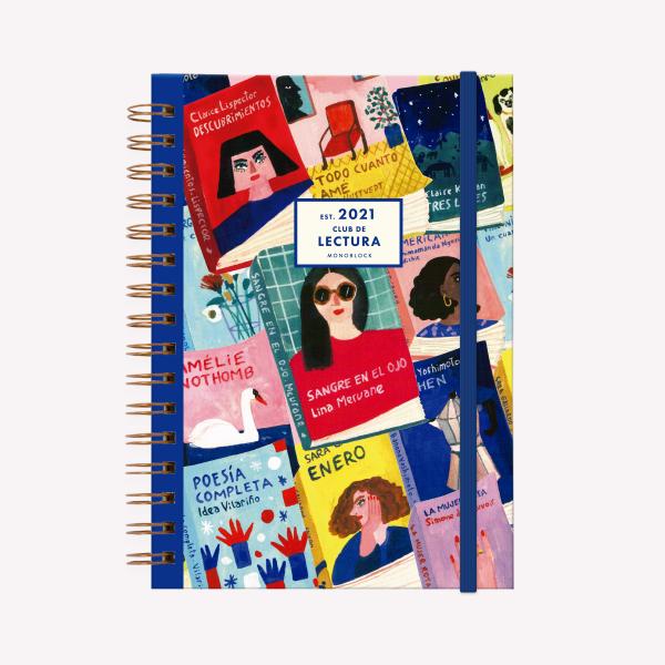 Planner 2021 A5 weelky - Book Club Escritoras