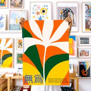 Lámina Wu Wei x Agustina Basile - 50x70 cm