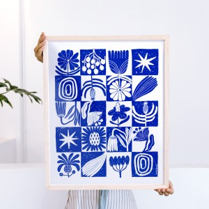 Wall Art Modular Flora x Caribay - 40x50 cm