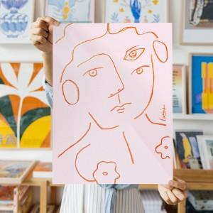 Wall Art Portrait by Larris - 30x40 cm