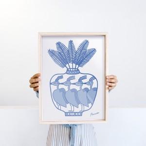 Lámina Jarrón x Agustina Ramos - 30x40 cm