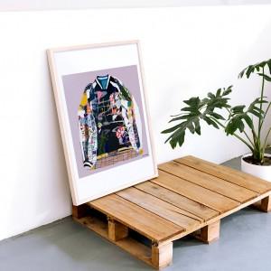 Cuadro Mizaki  x Santiago Paredes -  50x70 cm