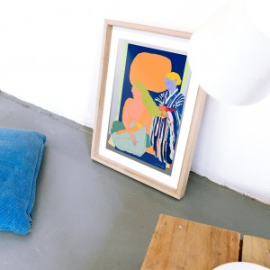 Framed Wall Art Cacao by Santiago Paredes - 30x40 cm