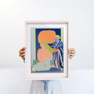 Lámina enmarcada Cacao x Santiago Paredes - 30x40 cm