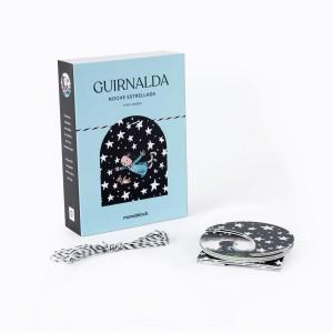 Guirnalda 9 piezas Liniers Noche Estrellada