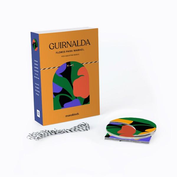 Guirnalda 9 piezas x Agustina Basile - Flores para Warhol