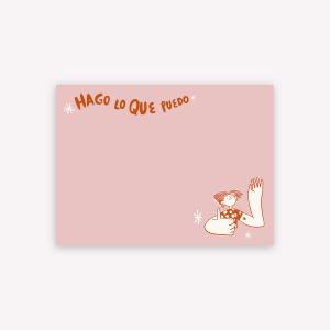 Sticky Notes Hago lo que puedo by Caribay - 10 x 7.4 cm