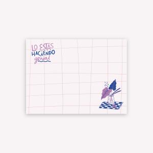 Sticky Notes Lo estás haciendo genial by Caribay - 10x7.4cm