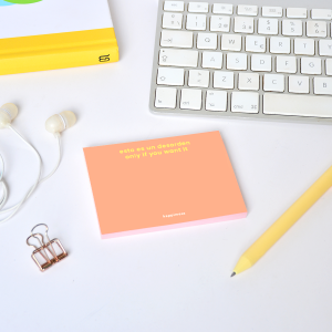 Happimess Colorblock Desorden Sticky Notes