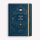 Cuaderno Cosido A5 Punteado Bruja Moderna Creer es Poder Azul