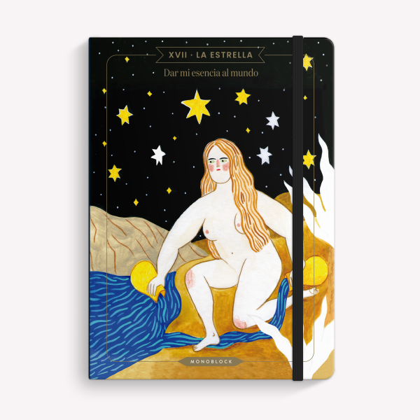 Cuaderno Cosido A5 Rayado Bruja Moderna La Estrella