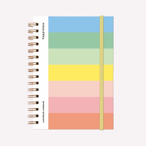 Cuaderno Anillado A5 Club de Lectura Escritoras Punteado