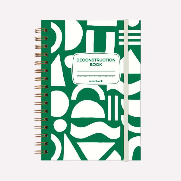 Cuaderno Anillado A5 Happimess Colorblock Punteado
