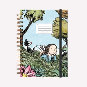 Cuaderno Anillado A5 Macanudo NATFLIX Liso