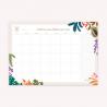 Mi tiempo es Oro Monthly Planner