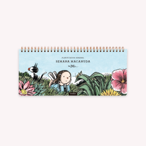 Ringed Weekly Planner 28x12 cm Macanudo Natflix