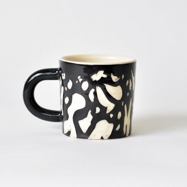 Mug - Composition Black by JASA