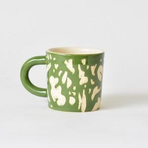 Composition Green by JASA - Ceramic Mug