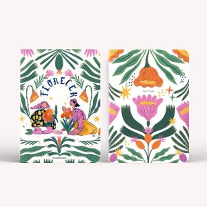 Libretas x2 Agus Basile - Flores para Annna y Homero