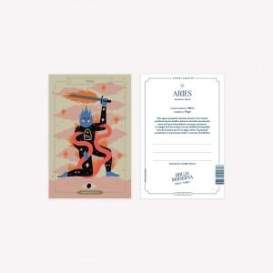 Postal  Bruja Moderna - Aries x Jennifer Dahbura