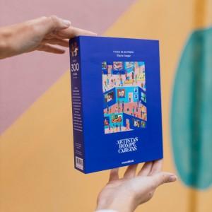 Puzzle Artistas Rompecabezas - Enriqueta en el Bosque por Liniers