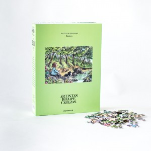 Puzzle Artistas Rompecabezas - Festival por Eugenia Mello