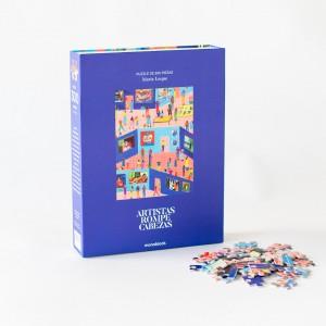 Puzzle 300 Piezas Artistas Rompecabezas - Hoy en el museo por María Luque