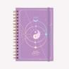 Agenda Lunar 2022 A5 2 días por página - Bruja Moderna - Universo Cristal