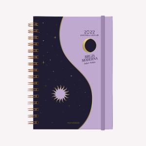 Moon Planner 2022 A5 Weekly - Yin Yang Oro