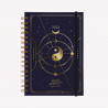 Agenda Lunar 2022 A5 Semana a la vista - Bruja Moderna - Universo Oro