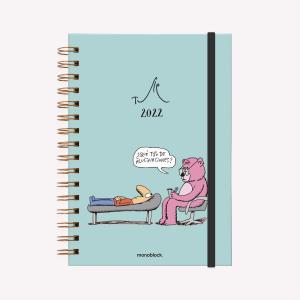 Planner 2022 A5 Weekly - No somos nada