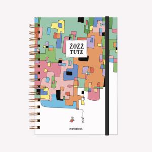 Planner 2022 A5  2 days per page - Cuadritos