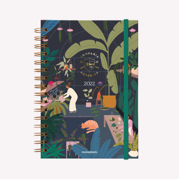Planner 2022 2 Days per page - Invernadero