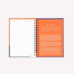 Agenda 2022 A5 Semana a la vista - Club de Lectura - Relatos