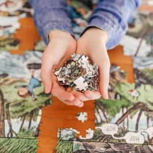 Puzzle 1000 Pieces. Artistas Rompecabezas - Un día Inolvidable by Liniers