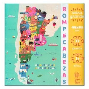 Rompecabezas Provincias Argentinas
