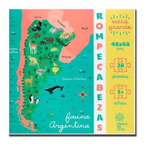 Rompecabezas Fauna Argentina