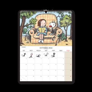 2022 Memes Desk Calendar
