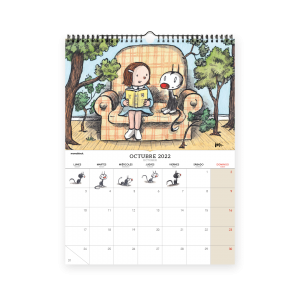 Calendario 2022 pared - Macanudo