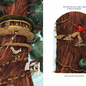 Cómo hacer una casa en un árbol - Rústica