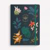 Cuaderno Cosido A5 Liso Compañía Botánica Noche