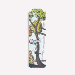 Lugares Diferentes by Liniers Magnetic Bookmarkers