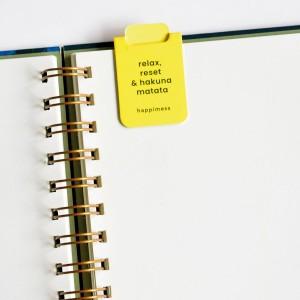 Happimess Hakuna Matata Magnetic Bookmarkers