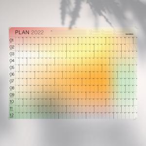 Planificador Anual 2022 Pared - 70x50cm - Gradiente