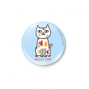 Botón Imán Tipos de Gatos