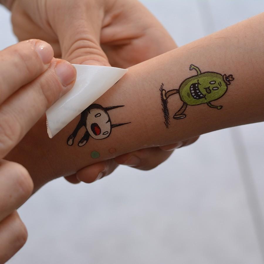Tatuajes Temporales Macanudo Por Liniers