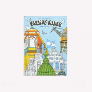 Buenos Aires Coloring Postcards